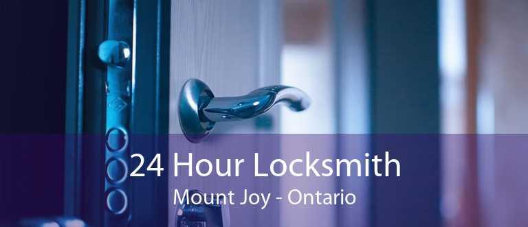 24 Hour Locksmith Mount Joy - Ontario