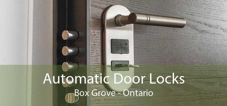 Automatic Door Locks Box Grove - Ontario