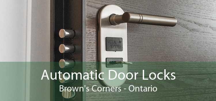 Automatic Door Locks Brown's Corners - Ontario