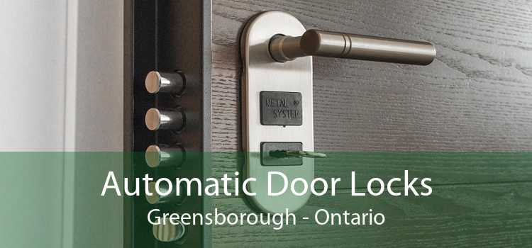 Automatic Door Locks Greensborough - Ontario