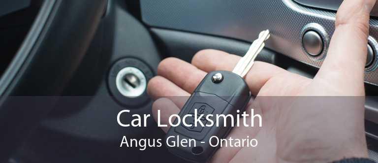 Car Locksmith Angus Glen - Ontario