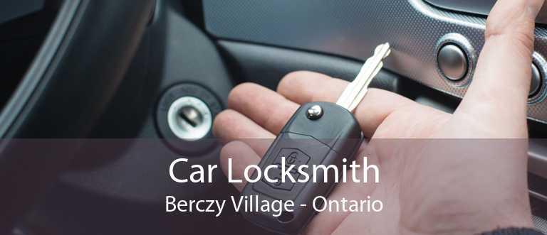 Car Locksmith Berczy Village - Ontario