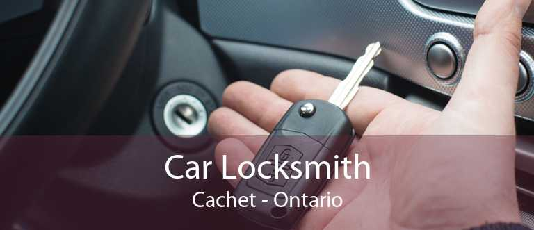 Car Locksmith Cachet - Ontario