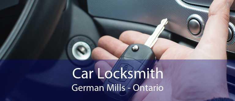 Car Locksmith German Mills - Ontario