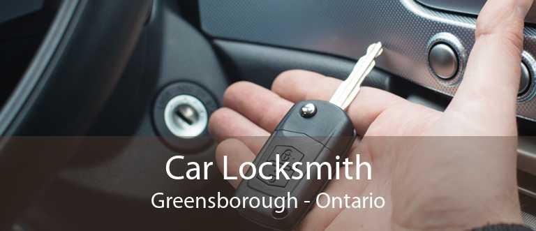 Car Locksmith Greensborough - Ontario