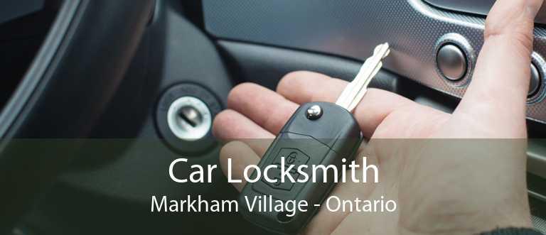Car Locksmith Markham Village - Ontario