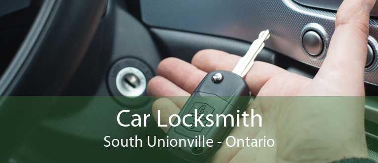 Car Locksmith South Unionville - Ontario