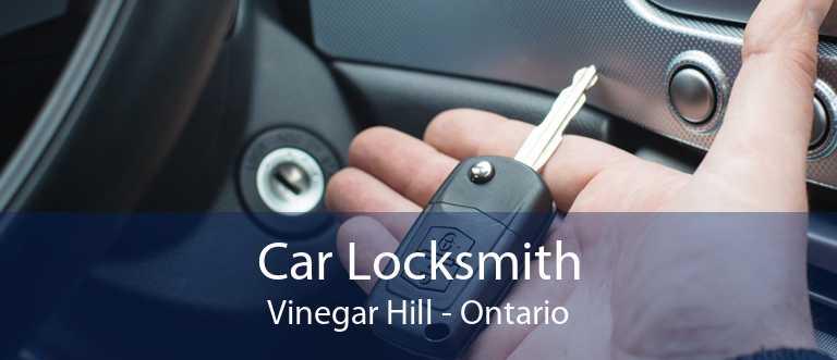 Car Locksmith Vinegar Hill - Ontario