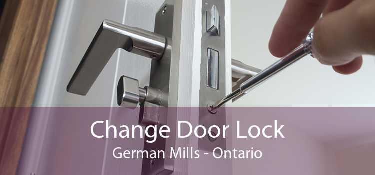 Change Door Lock German Mills - Ontario