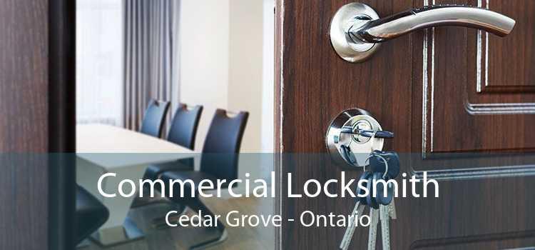 Commercial Locksmith Cedar Grove - Ontario