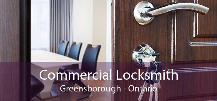 Commercial Locksmith Greensborough - Ontario