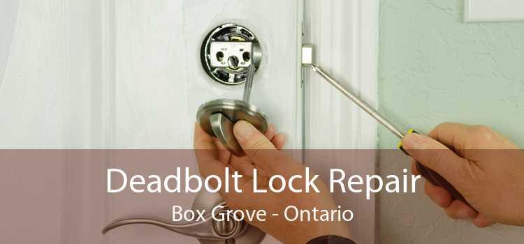 Deadbolt Lock Repair Box Grove - Ontario