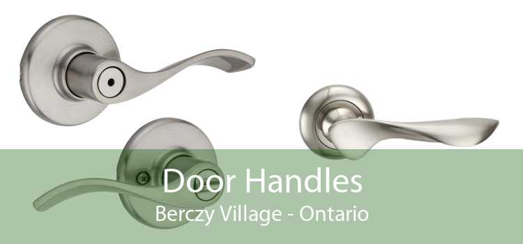 Door Handles Berczy Village - Ontario