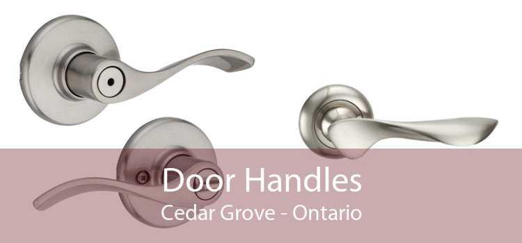 Door Handles Cedar Grove - Ontario
