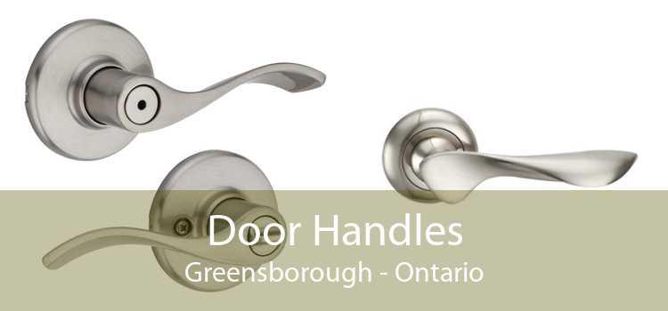 Door Handles Greensborough - Ontario