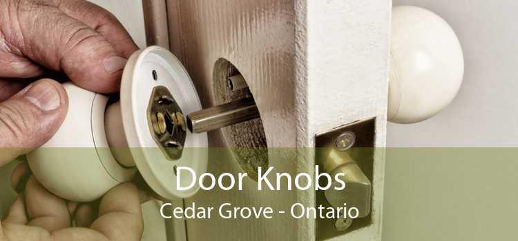 Door Knobs Cedar Grove - Ontario