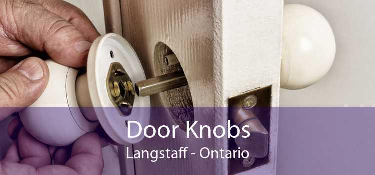Door Knobs Langstaff - Ontario