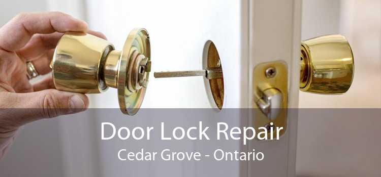 Door Lock Repair Cedar Grove - Ontario