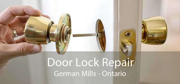 Door Lock Repair German Mills - Ontario