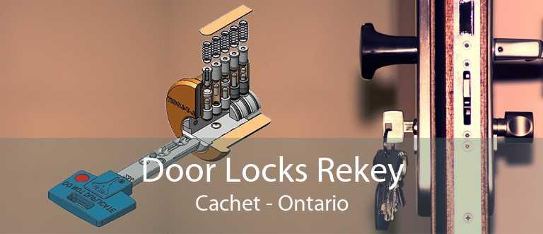 Door Locks Rekey Cachet - Ontario