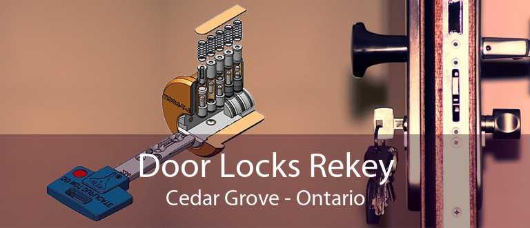 Door Locks Rekey Cedar Grove - Ontario