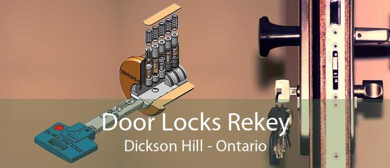 Door Locks Rekey Dickson Hill - Ontario