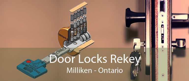 Door Locks Rekey Milliken - Ontario