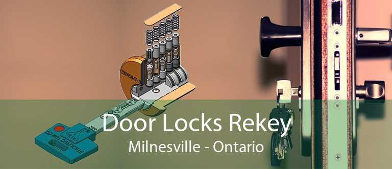 Door Locks Rekey Milnesville - Ontario