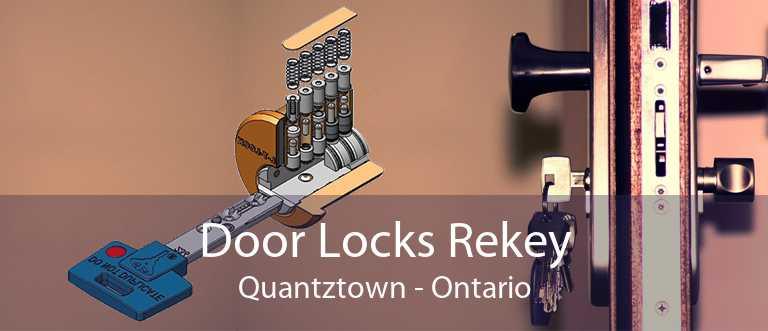 Door Locks Rekey Quantztown - Ontario
