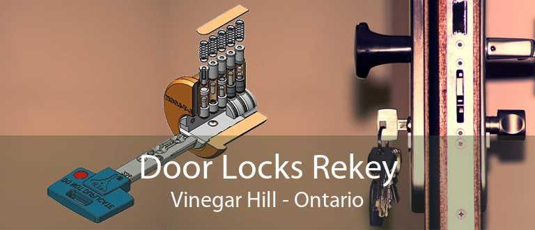 Door Locks Rekey Vinegar Hill - Ontario