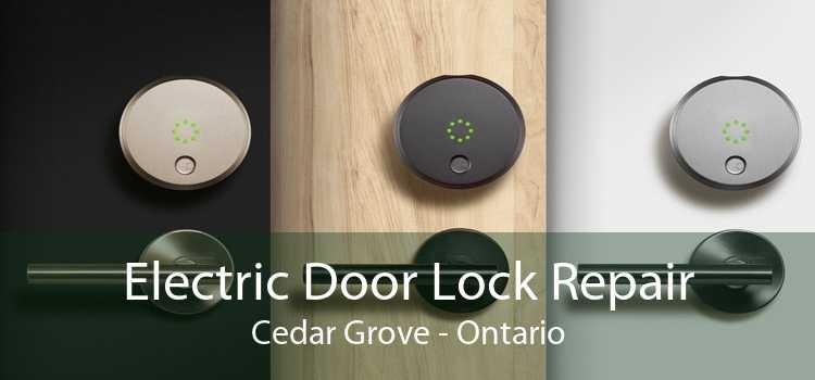 Electric Door Lock Repair Cedar Grove - Ontario