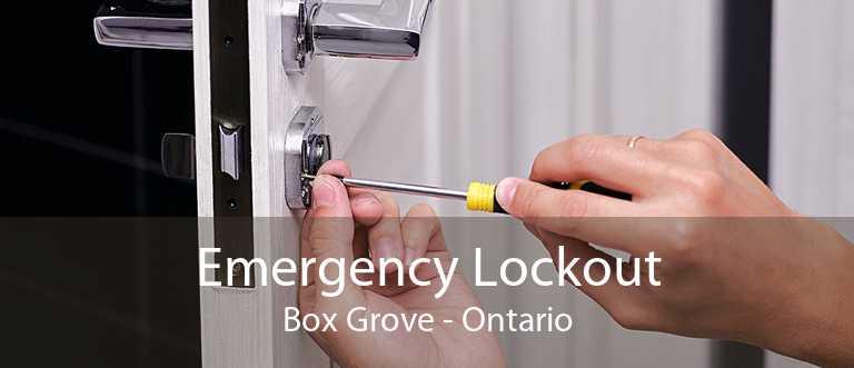 Emergency Lockout Box Grove - Ontario