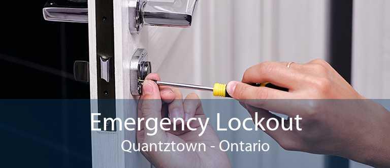 Emergency Lockout Quantztown - Ontario