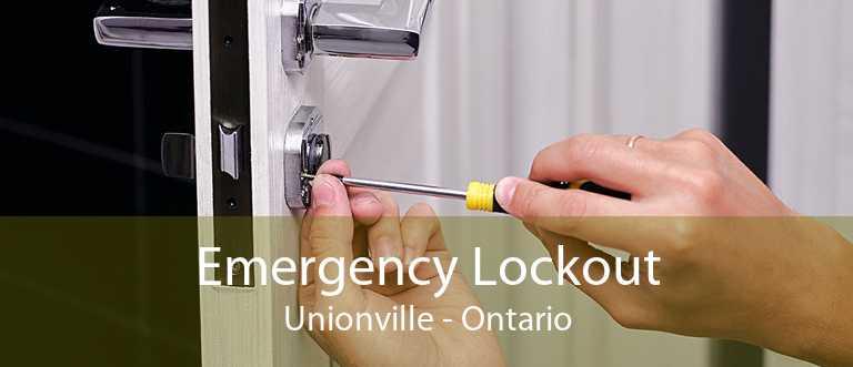 Emergency Lockout Unionville - Ontario