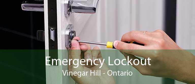 Emergency Lockout Vinegar Hill - Ontario