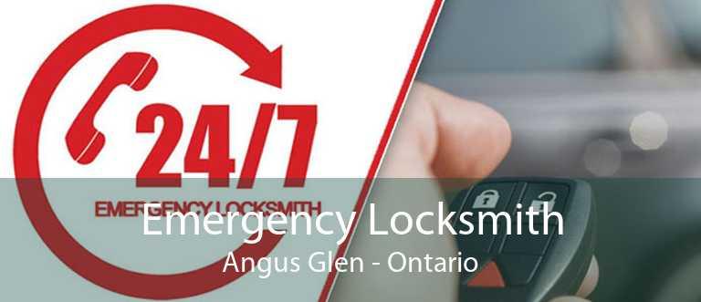 Emergency Locksmith Angus Glen - Ontario