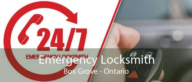 Emergency Locksmith Box Grove - Ontario