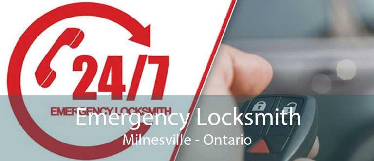 Emergency Locksmith Milnesville - Ontario