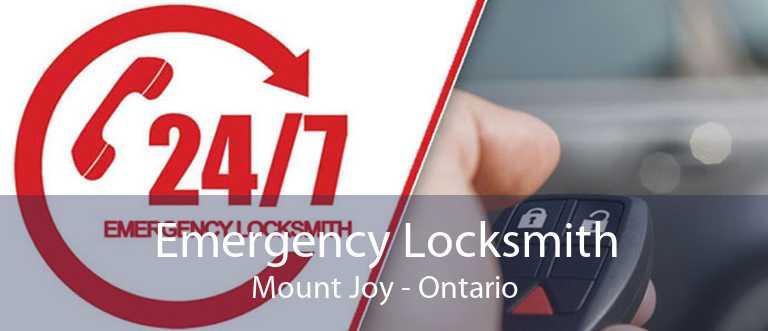 Emergency Locksmith Mount Joy - Ontario