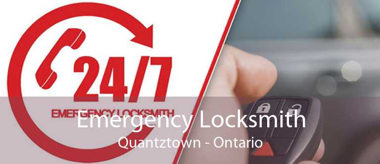 Emergency Locksmith Quantztown - Ontario