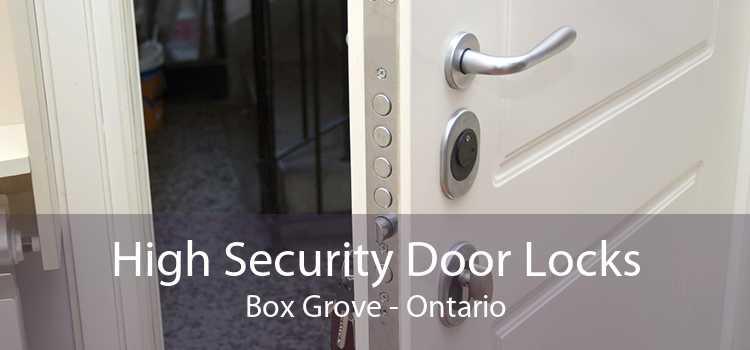 High Security Door Locks Box Grove - Ontario