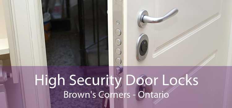 High Security Door Locks Brown's Corners - Ontario