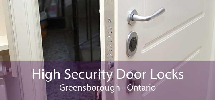 High Security Door Locks Greensborough - Ontario