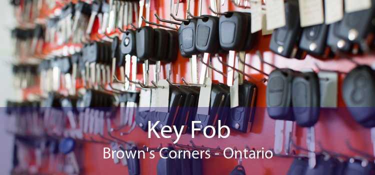 Key Fob Brown's Corners - Ontario