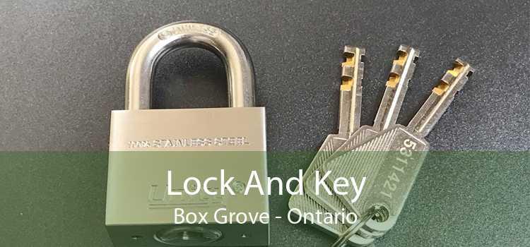 Lock And Key Box Grove - Ontario