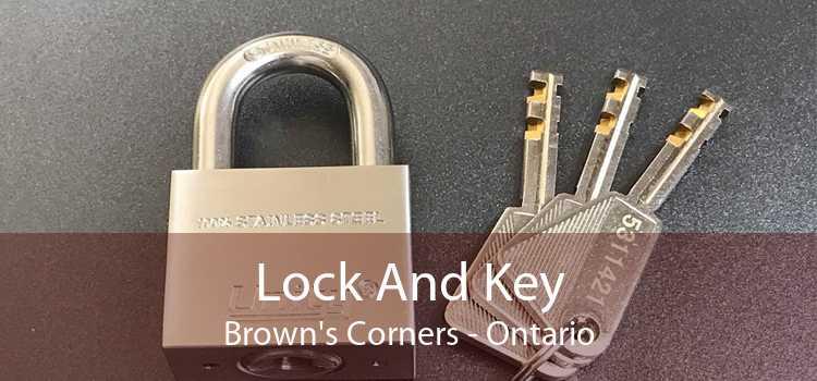 Lock And Key Brown's Corners - Ontario