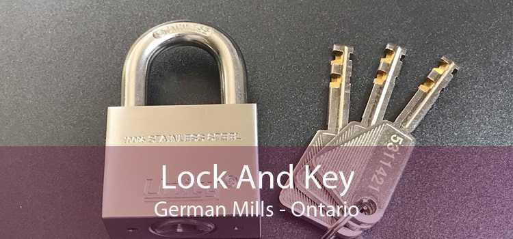 Lock And Key German Mills - Ontario