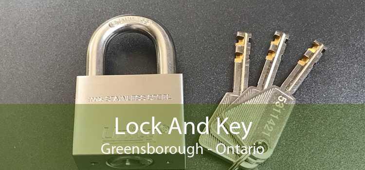 Lock And Key Greensborough - Ontario