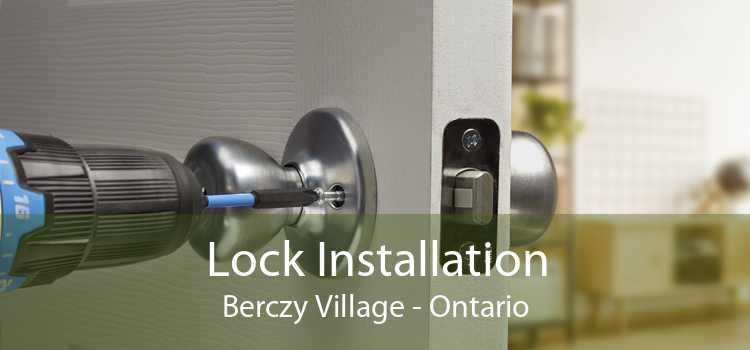 Lock Installation Berczy Village - Ontario