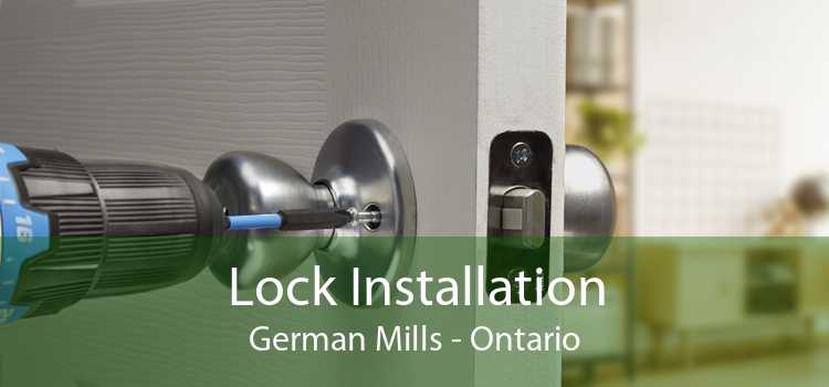 Lock Installation German Mills - Ontario